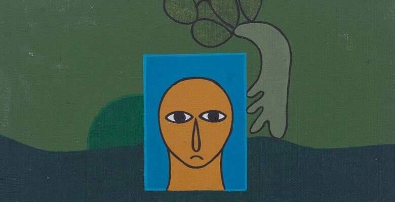Antonio Maia, Estudo xxiv , Óleo sobre placa, 1974